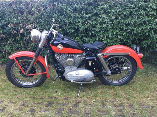 Fist production year 1957 Sportster For Sale (picture 2 of 3)