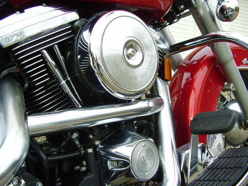 Harley Softail Heritage Classic 1340 EVO (2560 miles) 1995 N SOLD