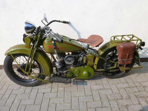 Harley Davidson 1931 DL 750 cc 2 cyl. For Sale (picture 1 of 6)
