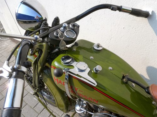 Harley Davidson 1931 DL 750 cc 2 cyl. For Sale (picture 4 of 6)