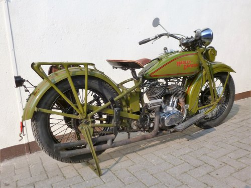 Harley Davidson 1931 DL 750 cc 2 cyl. For Sale (picture 5 of 6)