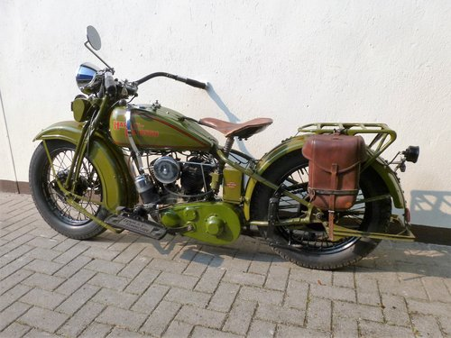 Harley Davidson 1931 DL 750 cc 2 cyl. For Sale (picture 6 of 6)