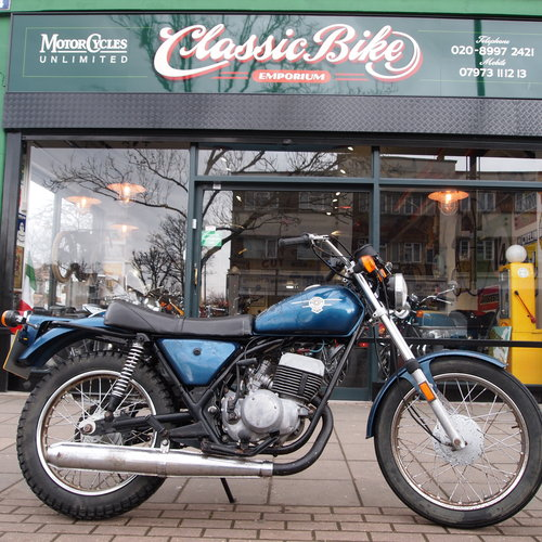 1976 Rare 250cc Harley Two Stroke, RESERVED FOR KAYE. SOLD (picture 1 of 6)