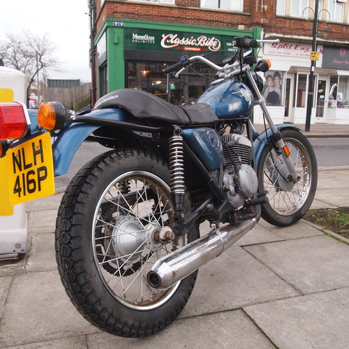 1976 Rare 250cc Harley Two Stroke, RESERVED FOR KAYE. SOLD (picture 4 of 6)