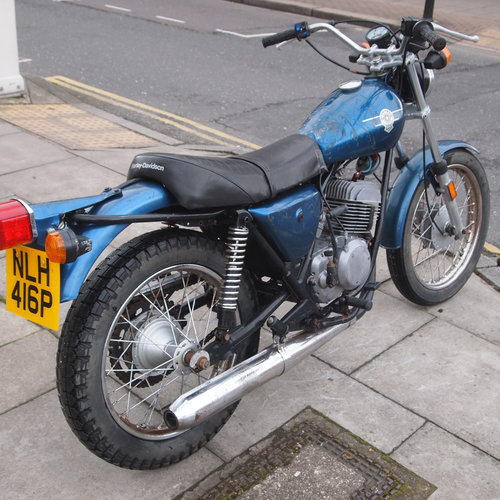 1976 Rare 250cc Harley Two Stroke, RESERVED FOR KAYE. SOLD (picture 6 of 6)