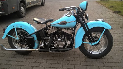 harley davidson 1200 SV 1940 model U SOLD (picture 1 of 6)