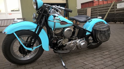 harley davidson 1200 SV 1940 model U SOLD | Car And Classic