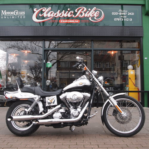 2003 FXDWG 1625cc Wide Glide, RESERVED FOR MIKE. SOLD (picture 1 of 6)