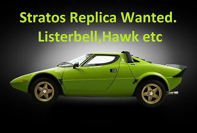 Picture of 1976 Hawk or Listerbell Stratos Required