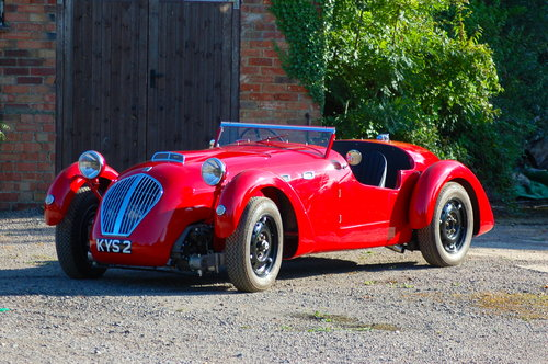 1949 Healey Silverstone supercharged For Sale (picture 1 of 6)