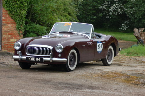1950 Nash Healey Panelcraft Roadster Mille Miglia finished For Sale (picture 1 of 6)