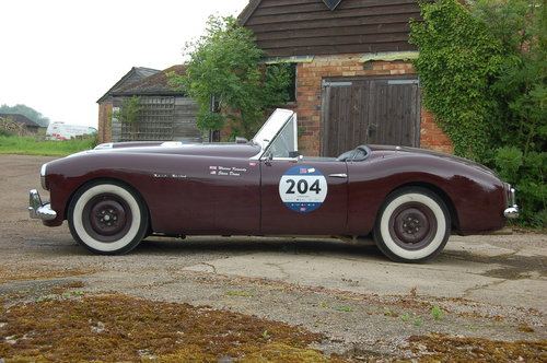 1950 Nash Healey Panelcraft Roadster Mille Miglia finished For Sale (picture 2 of 6)