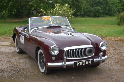 1950 Nash Healey Panelcraft Roadster Mille Miglia finished For Sale (picture 6 of 6)