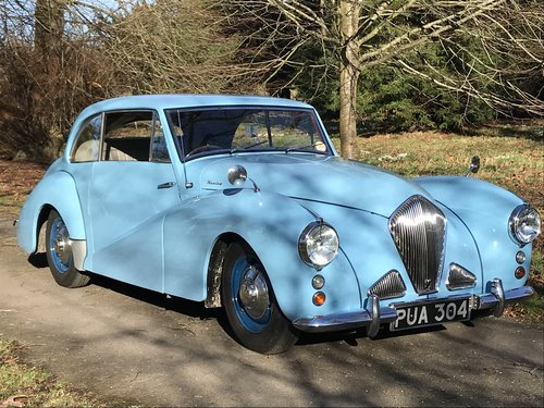 1952 Healey Tickford Sports Saloon -Stunning Example For Sale (picture 1 of 6)