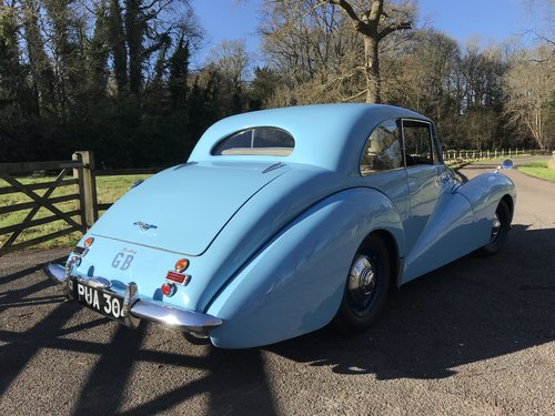 1952 Healey Tickford Sports Saloon -Stunning Example For Sale (picture 2 of 6)