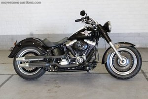 2013 HARLEY-DAVIDSON Fat boy low For Sale by Auction