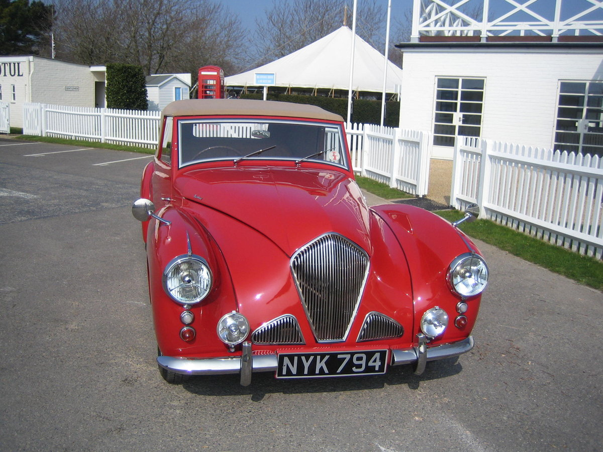 1953 Healey Abbott - extensively restored For Sale (picture 2 of 6)