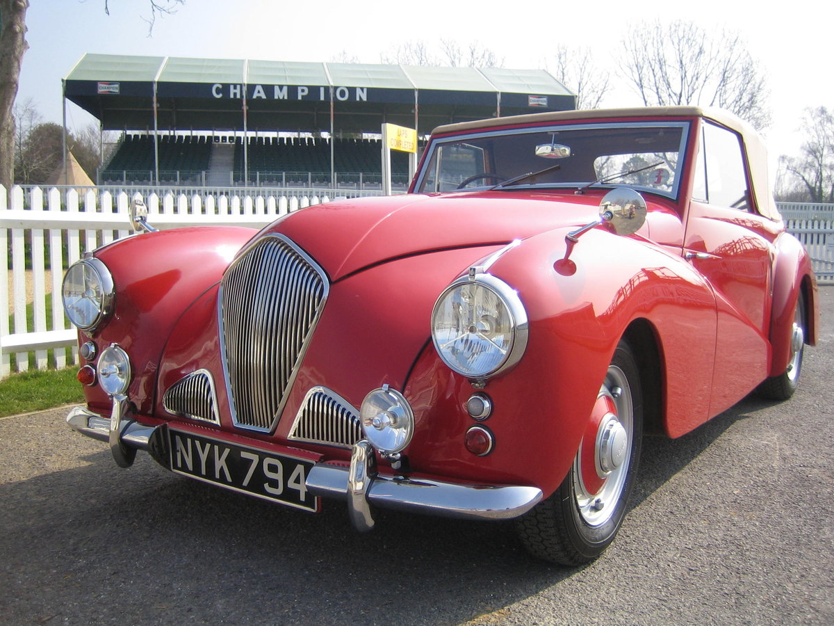 1953 Healey Abbott - extensively restored For Sale (picture 5 of 6)