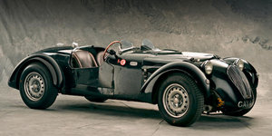 1950 HEALEY SILVERSTONE JAGUAR COMPETITION ROADSTER For Sale by Auction