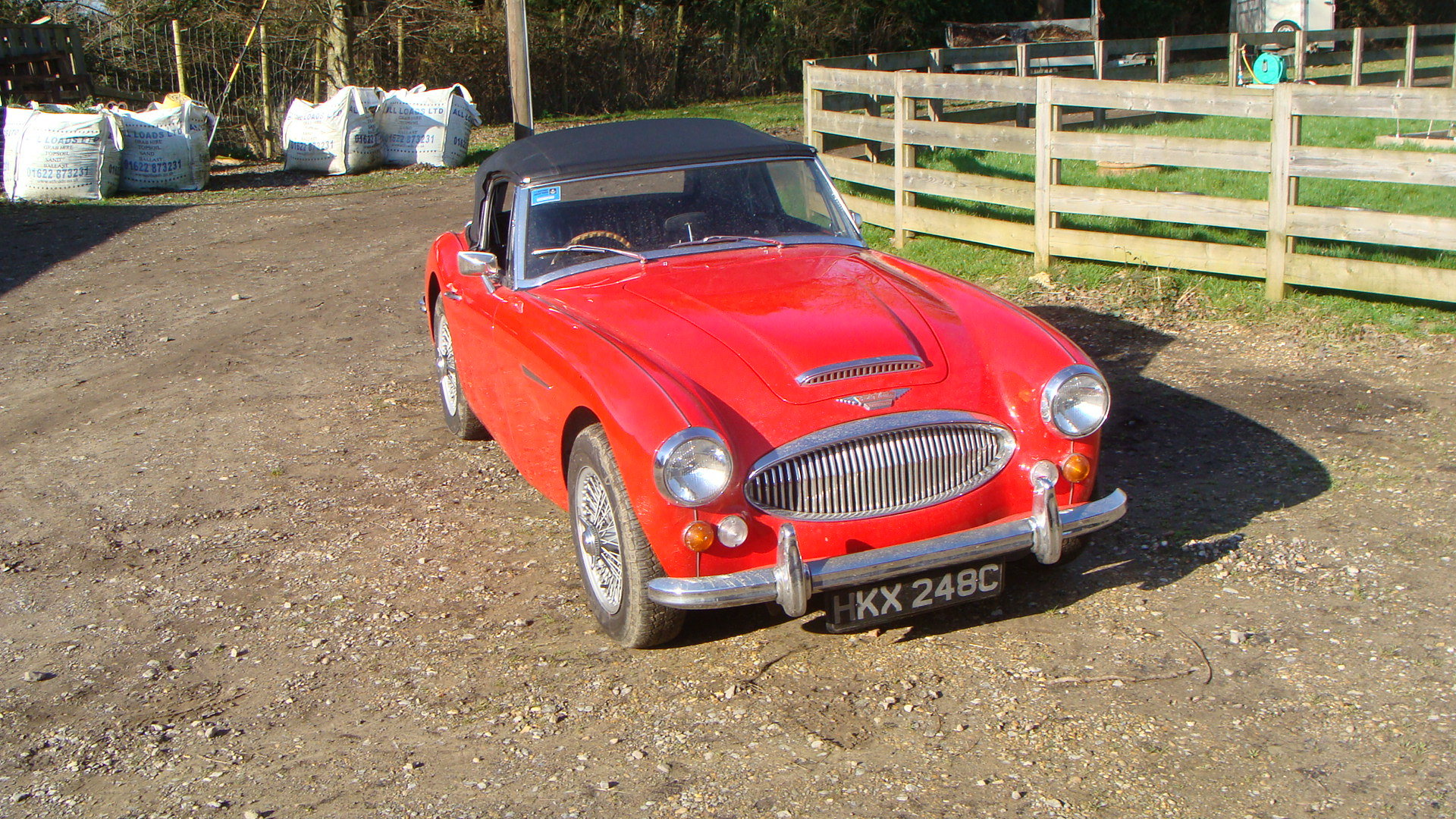 1965 Austin Healey 3000 Mk 111 BJ8 For Sale (picture 2 of 6)