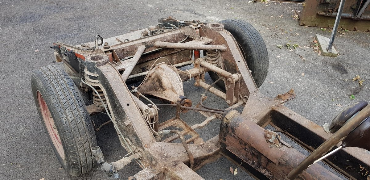 1952 Tickford Healey Silverstone Project For Sale (picture 4 of 6)