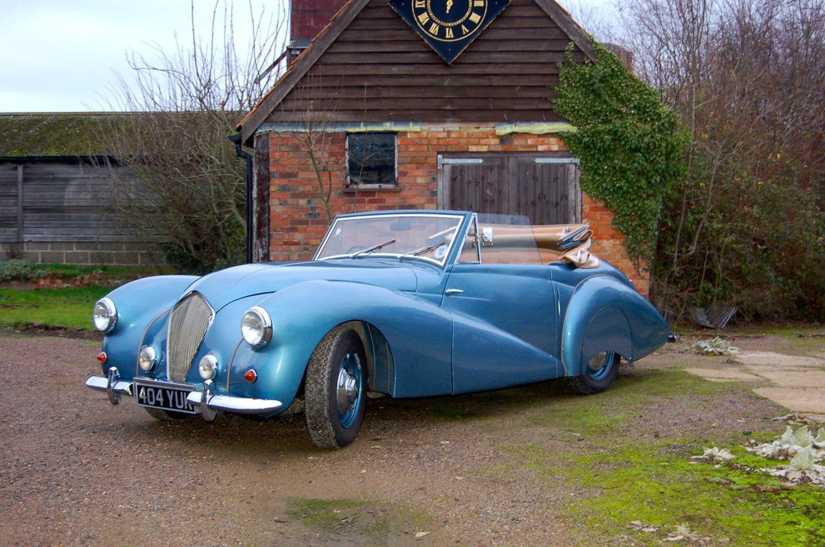 1951 Healey Abbott Drophead Coupe For Sale (picture 1 of 6)