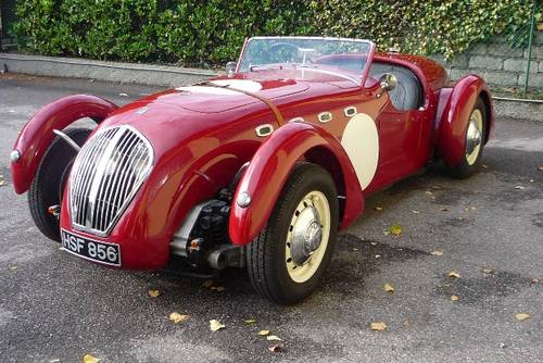 1950 Healey Silverstone ex D.G. Clarke.   For Sale (picture 2 of 6)