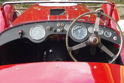 1950 Healey Silverstone ex D.G. Clarke.   For Sale (picture 4 of 6)