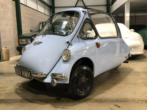 1962 Heinkel Trojan 200 SOLD (picture 1 of 6)