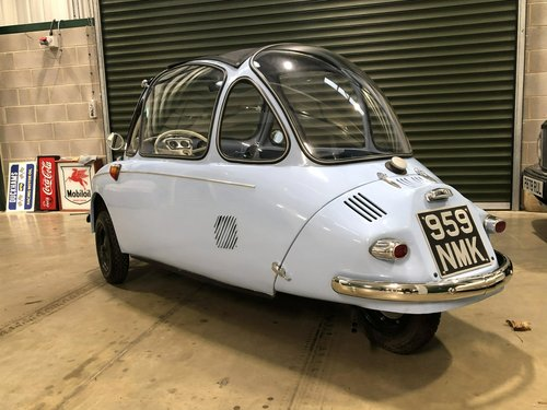 1962 Heinkel Trojan 200 SOLD (picture 4 of 6)
