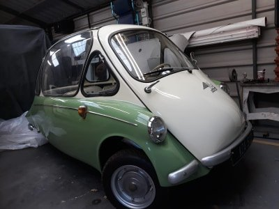 1960 Heinkel Ireland Bubble Car SOLD (picture 1 of 6)