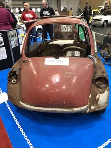 1962 Heinkel Trojan BUBBLE CAR