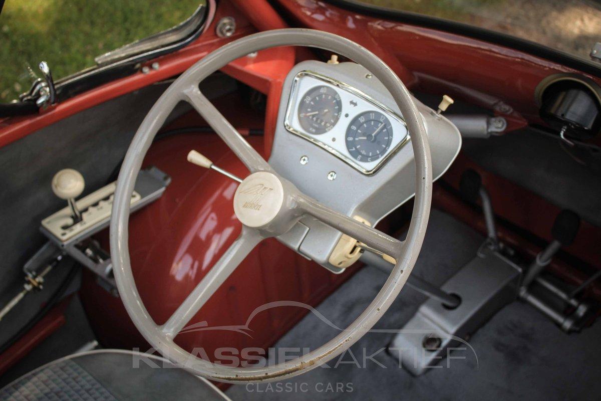 1957 Unique Original Heinkel in excellent condition For Sale (picture 4 of 6)