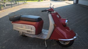 Heinkel 1964 first paint scooter