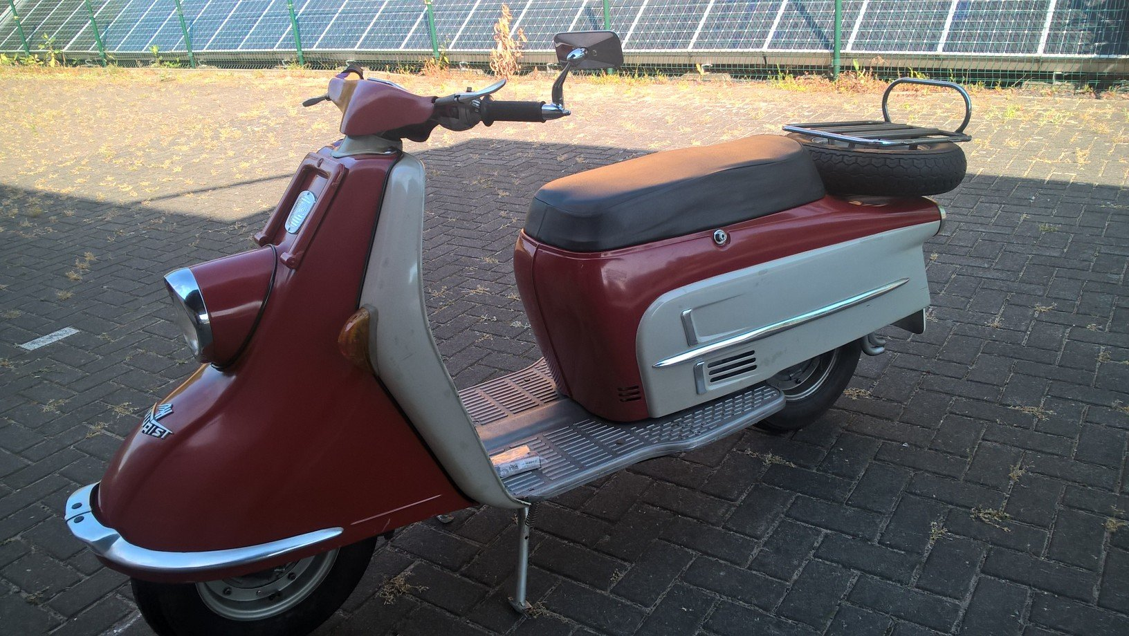 Heinkel 1964 first paint scooter For Sale (picture 3 of 6)