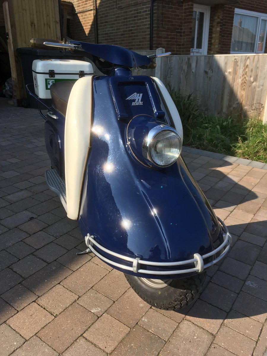 Heinkel Tourist 103A1 For Sale (picture 2 of 3)