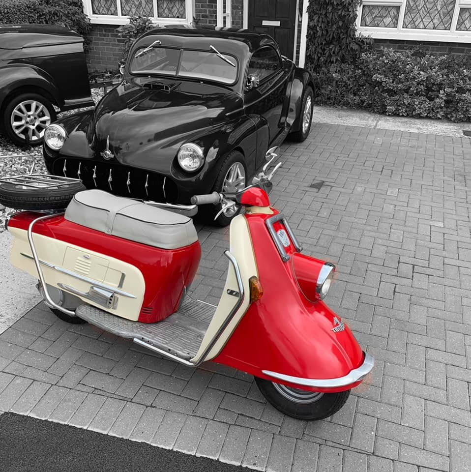 1961 Heinkel tourist rare classic scooter moped For Sale (picture 1 of 6)