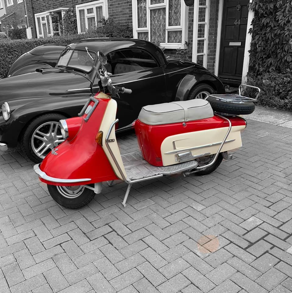 1961 Heinkel tourist rare classic scooter moped For Sale (picture 2 of 6)