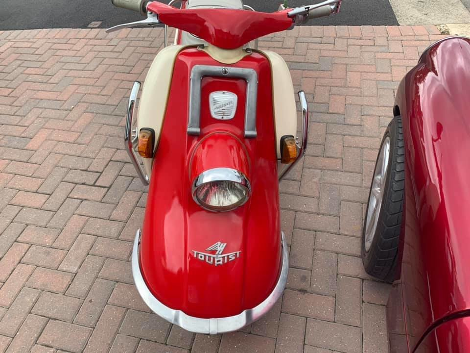 1961 Heinkel tourist rare classic scooter moped For Sale (picture 3 of 6)
