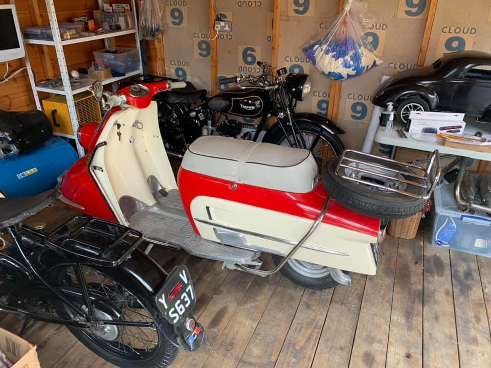 1961 Heinkel tourist rare classic scooter moped For Sale (picture 5 of 6)