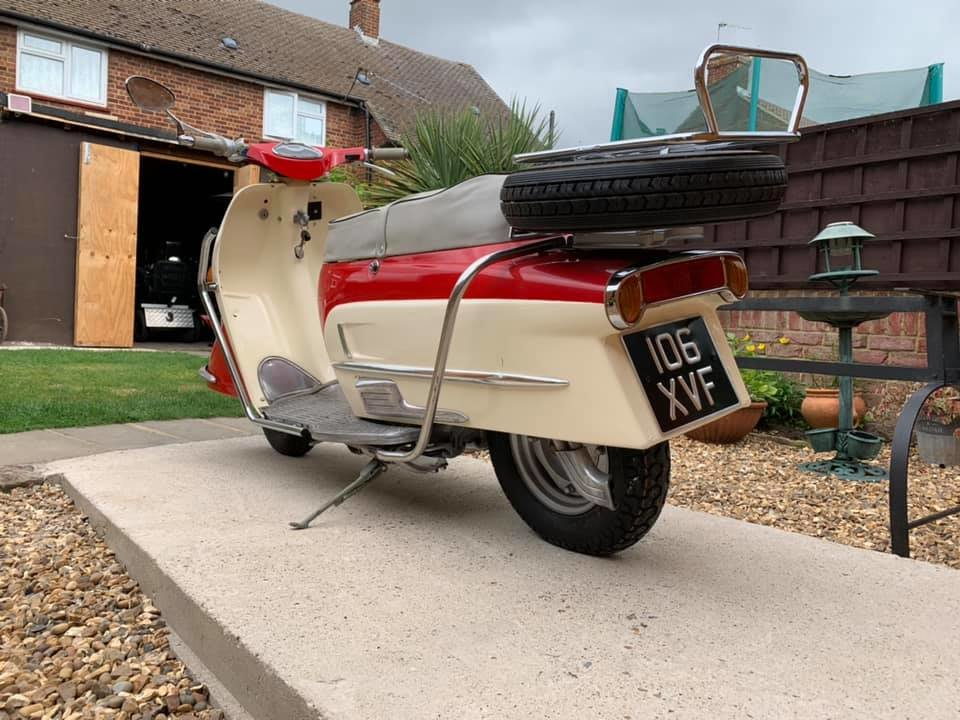 1961 Heinkel tourist rare classic scooter moped For Sale (picture 6 of 6)
