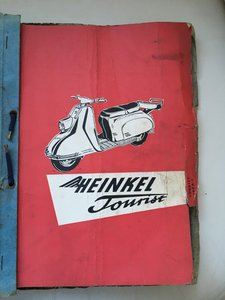 Heinkel Tourist 103 Workshop Manual
