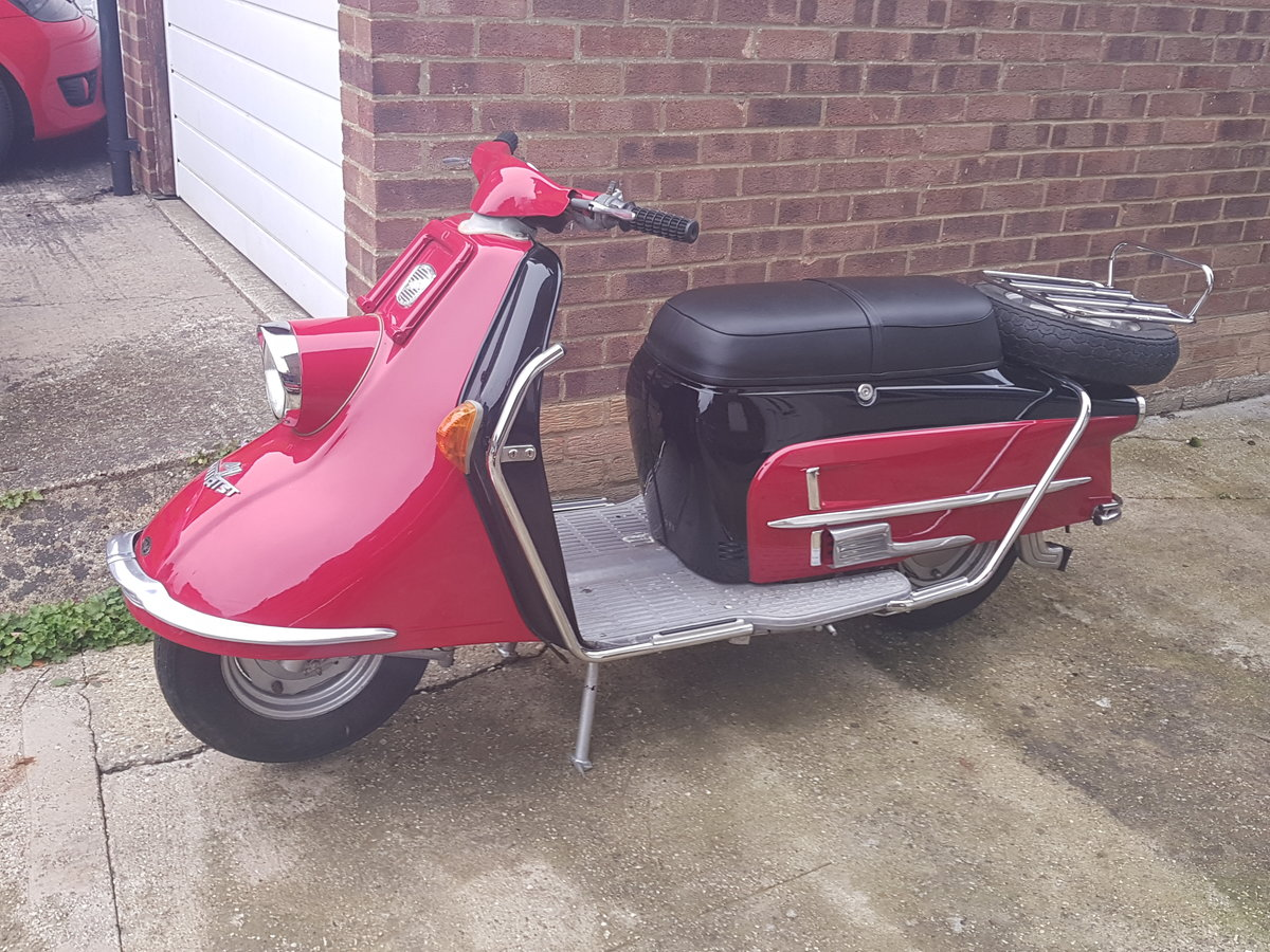 1961 Heinkel Tourist scooter Classic  For Sale (picture 1 of 6)