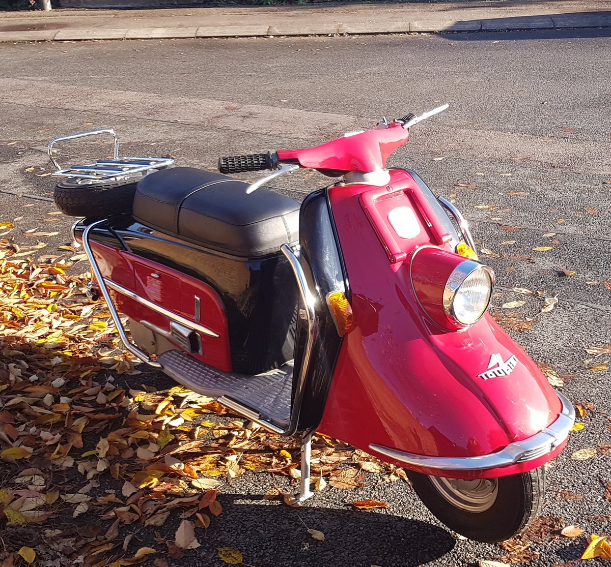 1961 Heinkel Tourist scooter Classic  For Sale (picture 2 of 6)