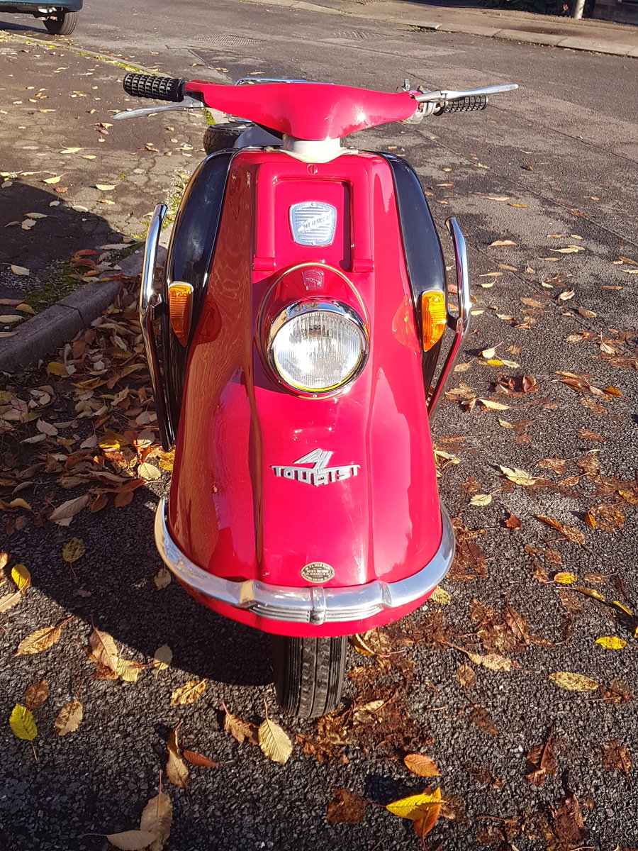 1961 Heinkel Tourist scooter Classic  For Sale (picture 4 of 6)