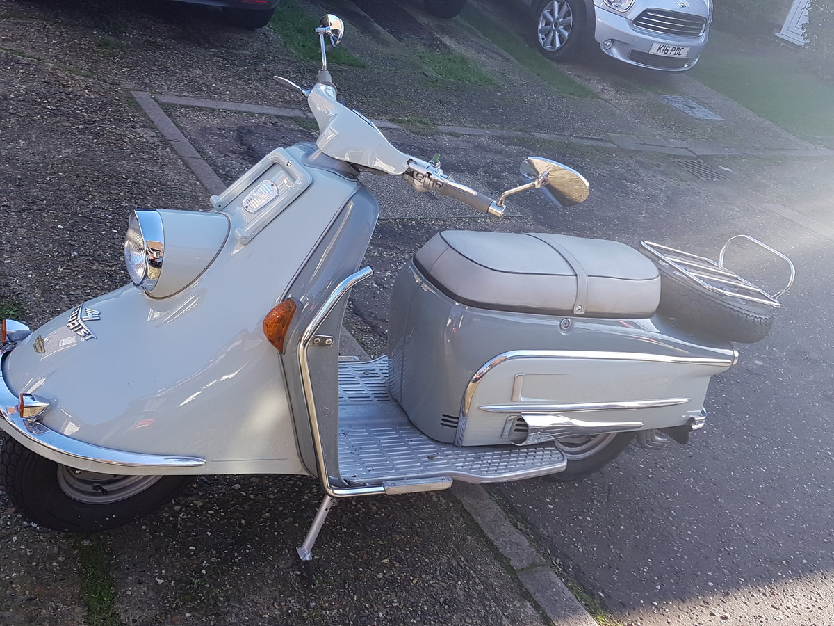 1963 Classic Heinkel Tourist scooter  NOW SOLD For Sale (picture 1 of 6)