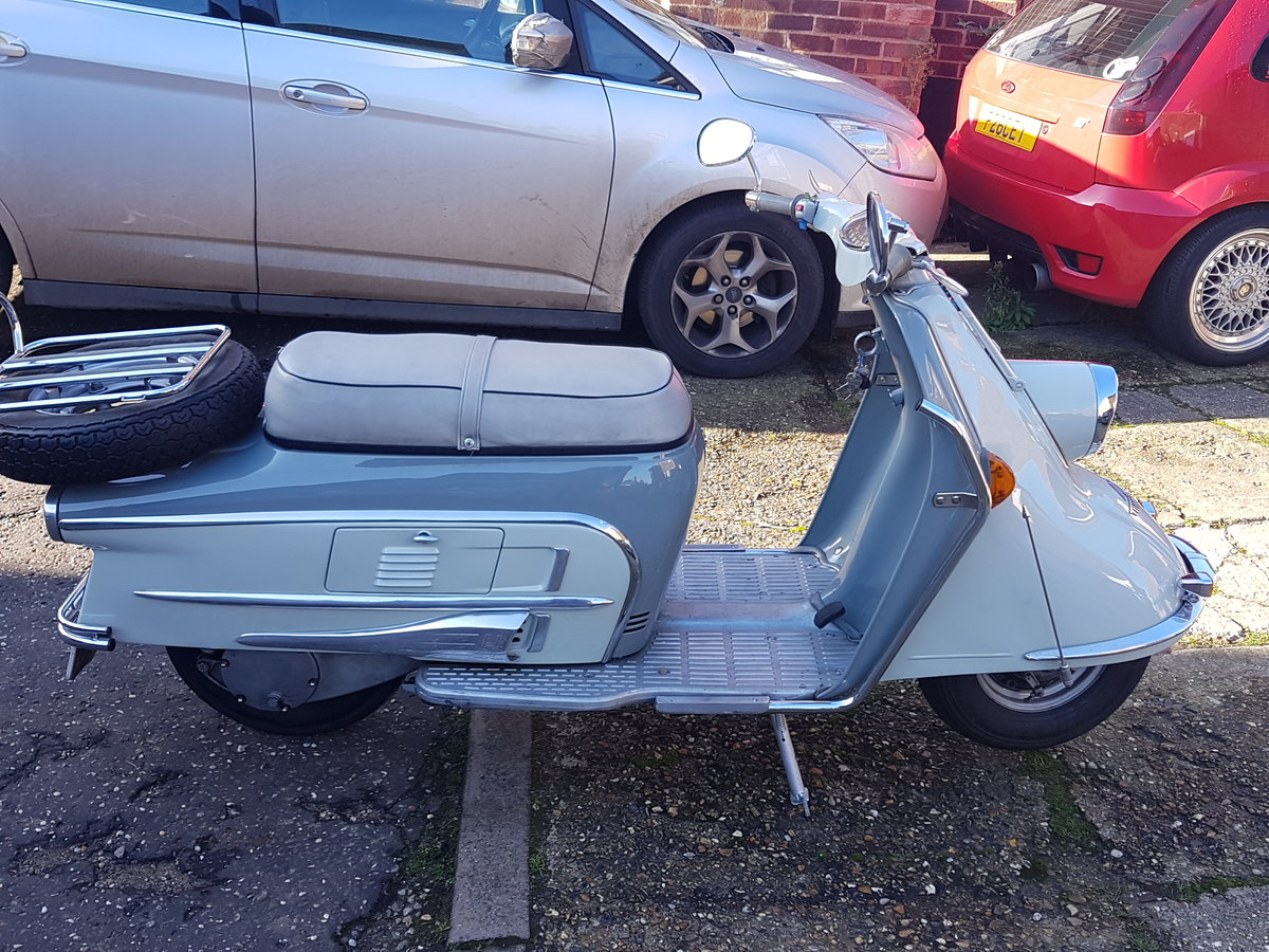1963 Classic Heinkel Tourist scooter  NOW SOLD For Sale (picture 2 of 6)