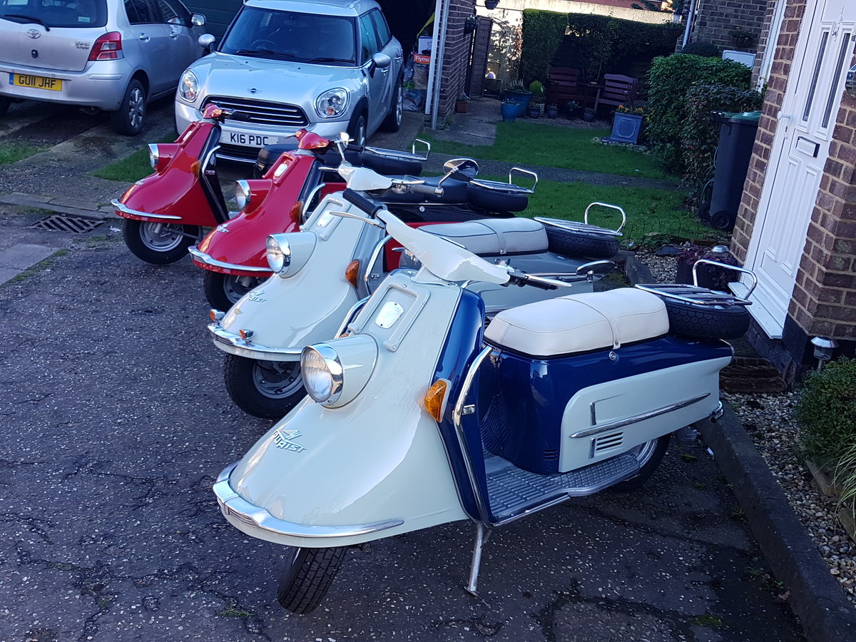 1963 Classic Heinkel Tourist scooter  NOW SOLD For Sale (picture 6 of 6)