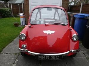 1965 Heinkel trojan bubble car fully restored