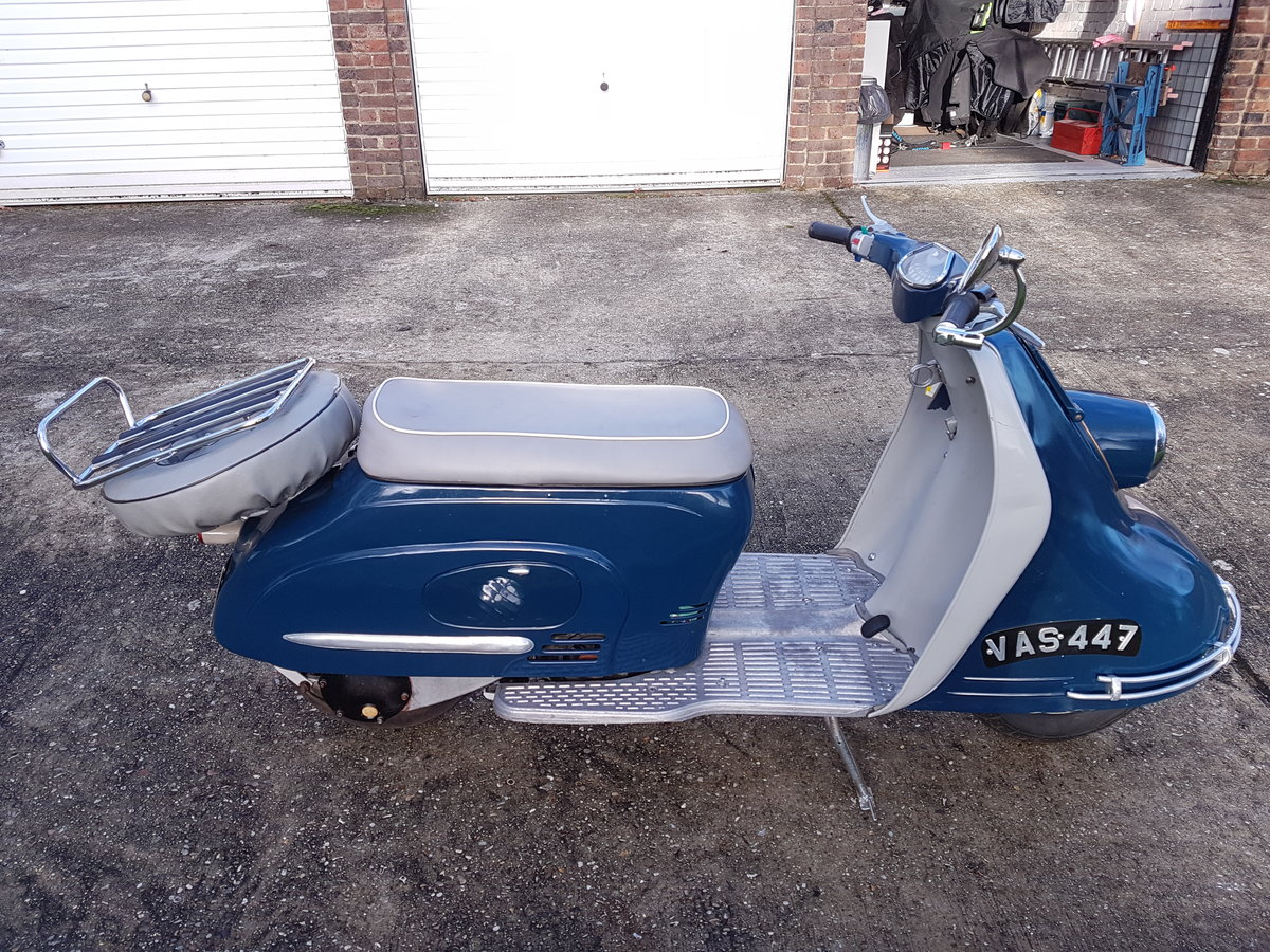 1960 Heinkel Tourist Scooter For Sale (picture 1 of 6)
